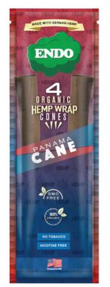 Endo Organic Pre-Rolled Hemp Cones - 15 Packs Per Box, 4 Hemp Cones Per Pack