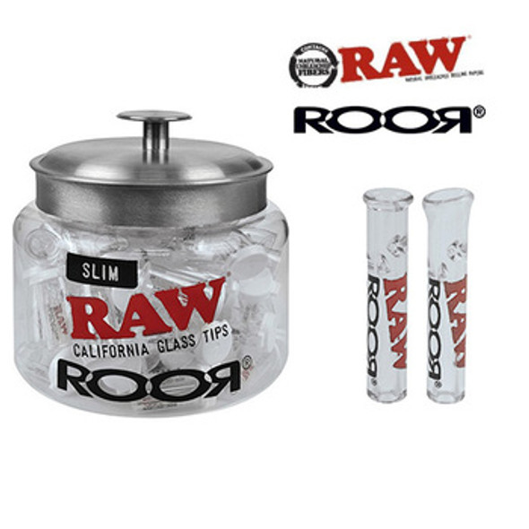 RAW RooR Glass Tip Singlets 75 ct.