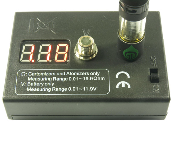 Variable Voltage Battery and Atomizer Tester