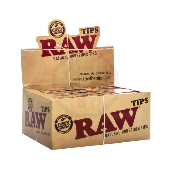 RAW Flat Paper Tips 50 ct.
