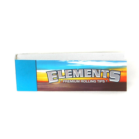 Elements Flat Paper Tips 50 ct.