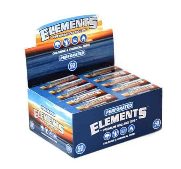 Elements Flat Paper Tips - 50 ct.