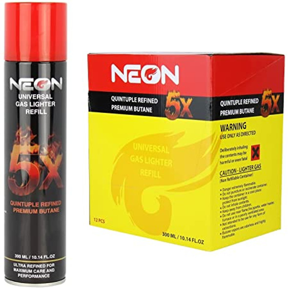 Neon 5x Refined Butane 12 ct.