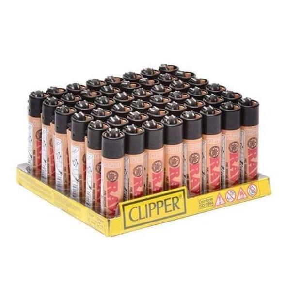 Clipper Lighter RAW Tan 48 ct.