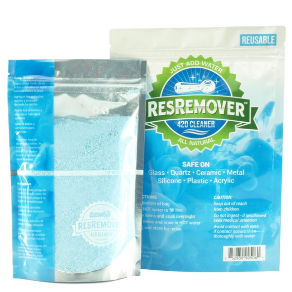 ResRemover Cultivation Cleaner .5lb Pouch | Makes 1 Gal (3.78 Liters) | Just Add Water