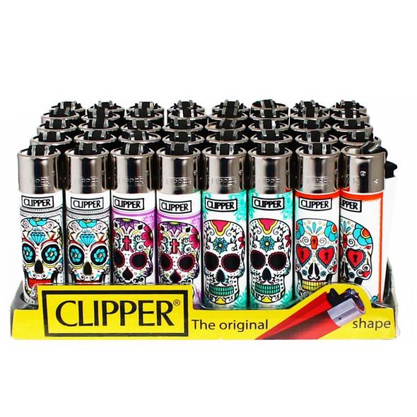 Clipper Lighter Skulls