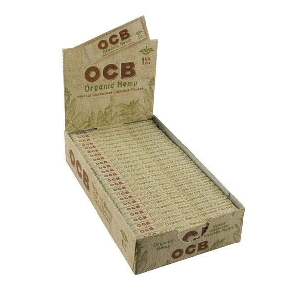 "OCB Organic Hemp 1 1/4"" Size 24 ct. Box"