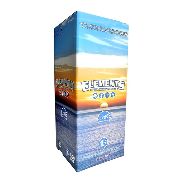 "Elements Bulk Pre-Rolled Cones 1¼"" Size - 900 ct."