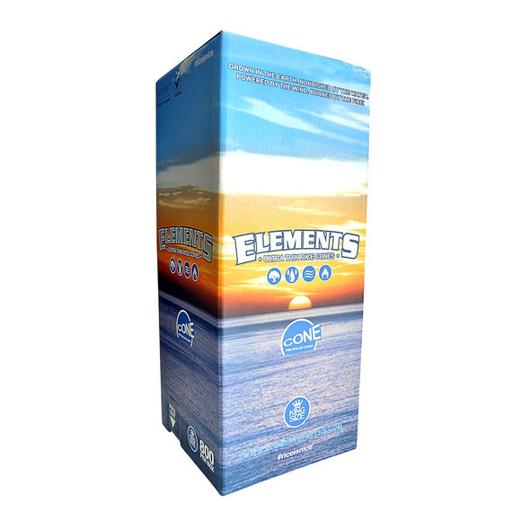 Elements Bulk Pre-Rolled Cones King Size - 800 ct.