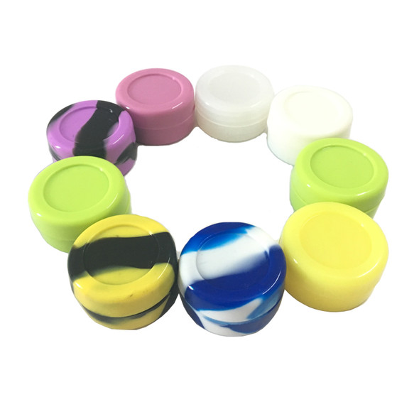 7 mL Silicone Puck Container