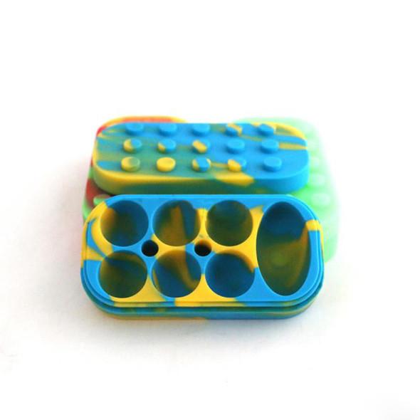 6 + 1 Silicone Brick Container