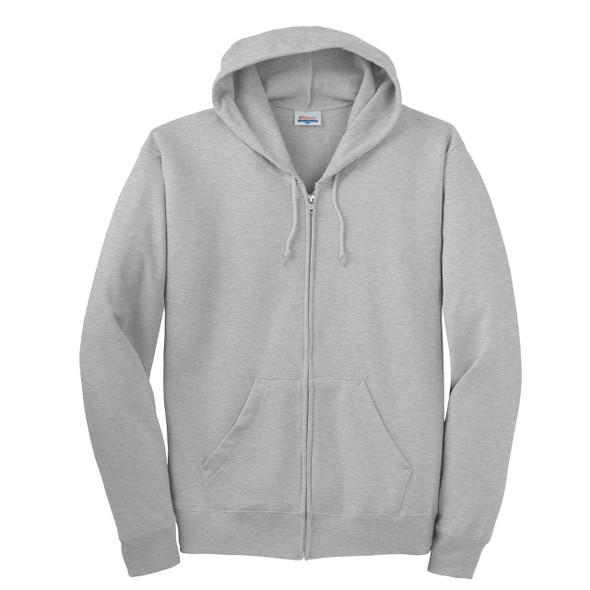 Custom Printed Hanes ComfortBlend® EcoSmart® Full Zip Hoodie