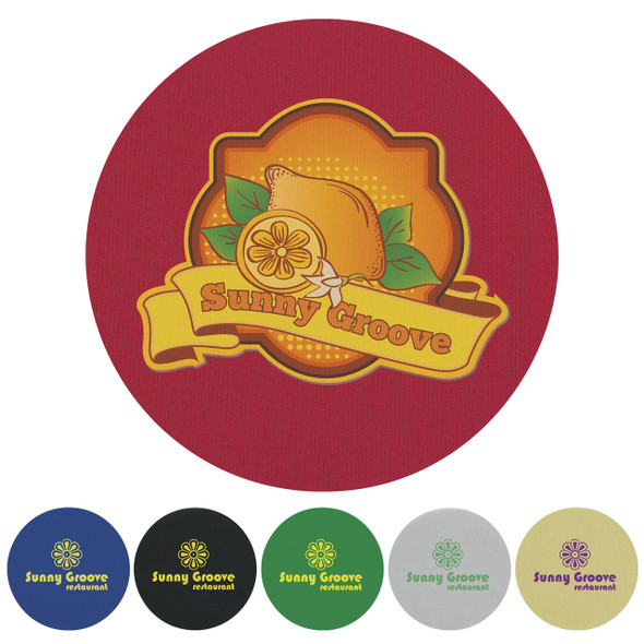 Custom Printed Round KOOZIE® Coaster