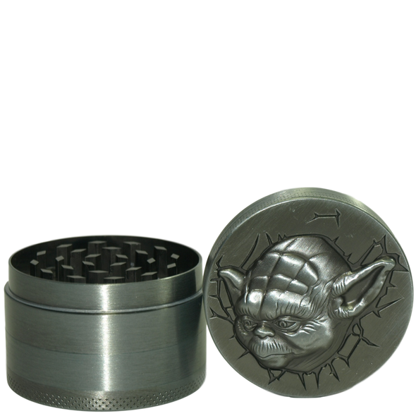 "50mm ""Yoda"" Four Piece Grinder"