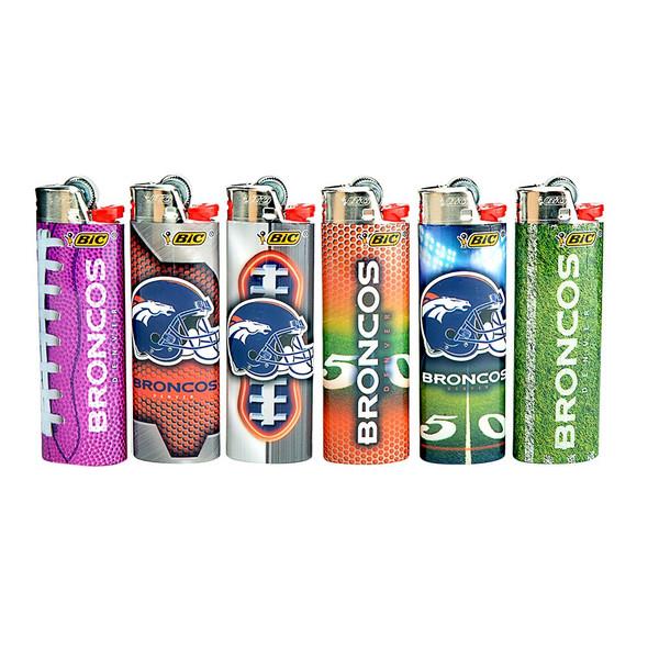 Bic Lighter Denver Broncos