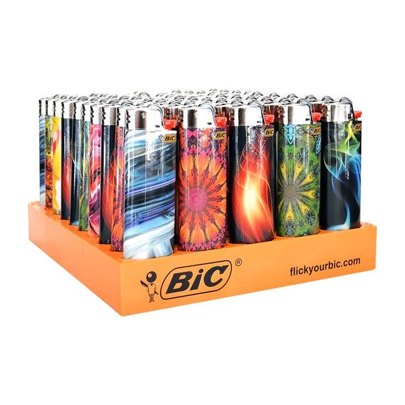 Bic Lighter Bohemian Series 50 ct.
