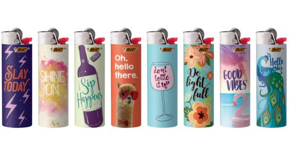 Bic Lighter Positive Affirmations Series 50 ct.