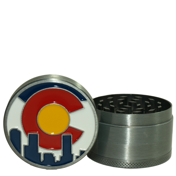 "50mm ""Colorado Flag"" Four Piece Grinder"