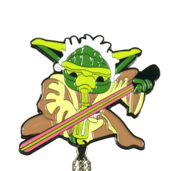 Dabbing Yoda Metal Dabber