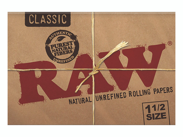 """RAW Classic Rolling Papers 1½"""" Size - 25 ct."""