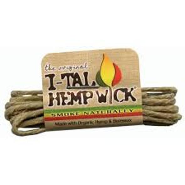 I-TAL Rolled Hemp Wick 50 ct.