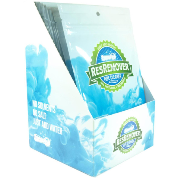 ResRemover 420 Cleaner 25 ct. Display Box | Just Add Water | Makes 8fl.oz. (237ml) Per Cleaning Pouch