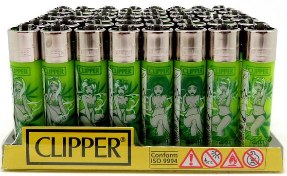 Clipper Lighter Marijane Pinups