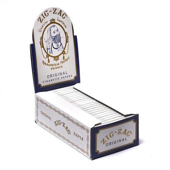"Zig Zag White 1 1/2"" Size Rolling Papers"