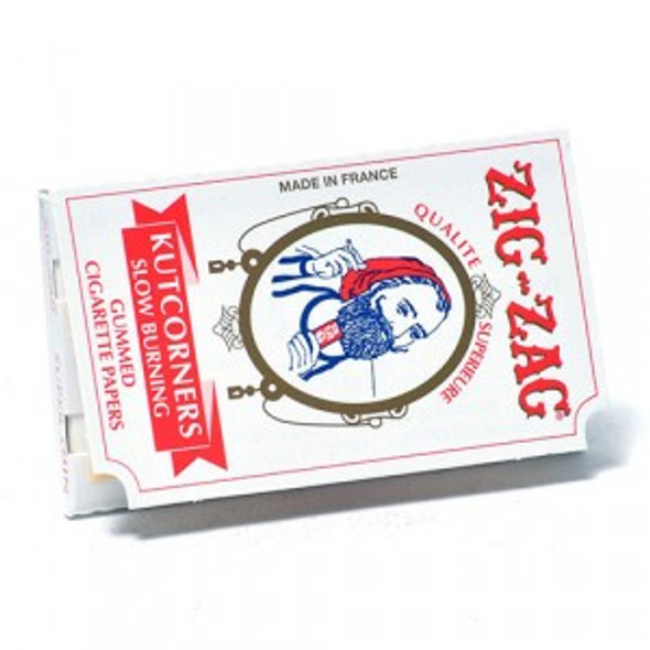 "Zig Zag Kutcorners 1 1/2"" Size Rolling Papers"
