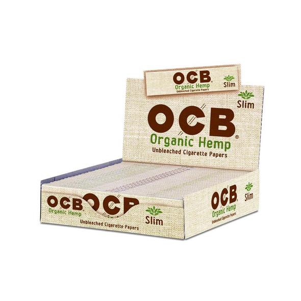 OCB Organic Hemp King Slim Size 24 ct.