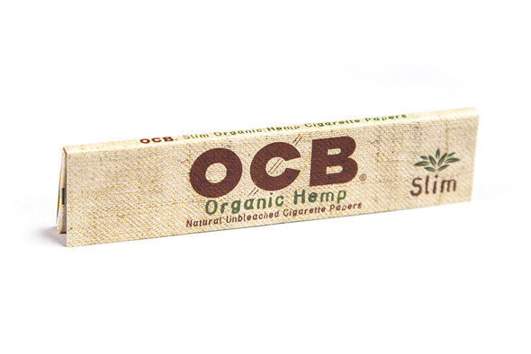 OCB Organic Hemp King Slim Size 24 ct. Box