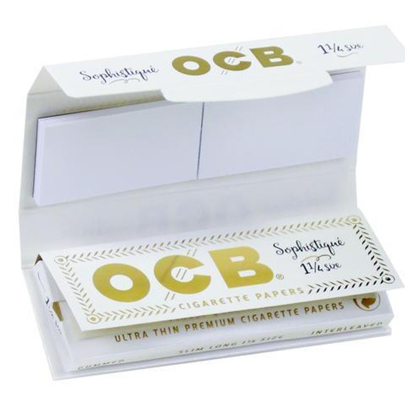 "OCB Sophistique 1 1/4"" Size With Tips 24 ct. Box"