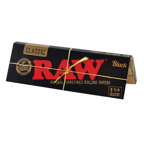RAW Black Papers Natural 1 1/4""
