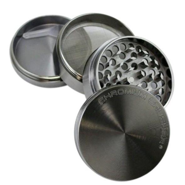Chromium Crusher 63mm Four Piece Zinc Grinder