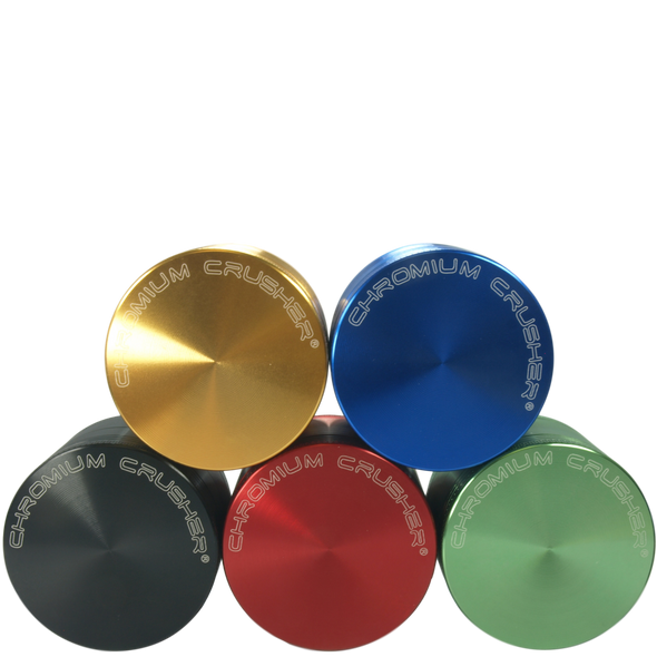 Chromium Crusher 63mm Four Piece Aluminum Grinder