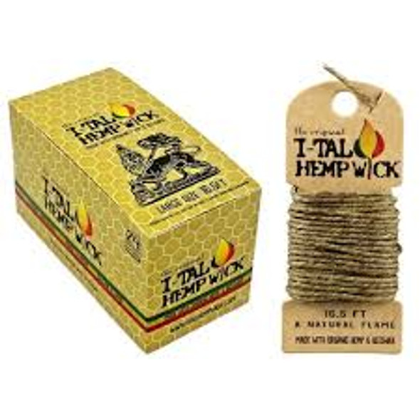 I-TAL Rolled Wick Large 24 ct.
