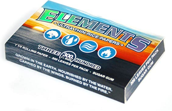 """Elements Rolling Papers 300pk 1¼"""" Size - 20 ct."""