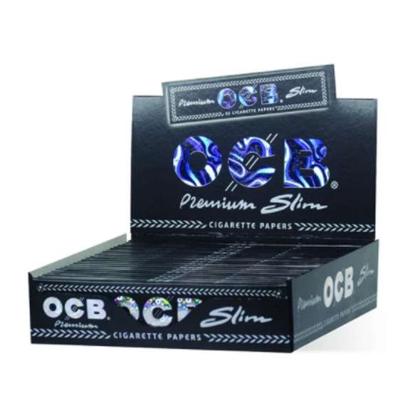 OCB Premium King Size Slim 24 ct. Box