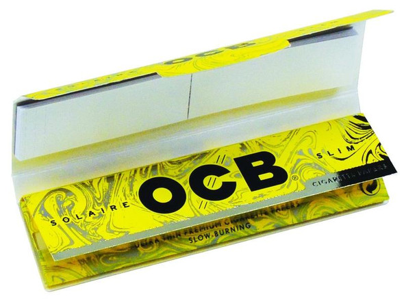 OCB Solaire King Size Slim with Tips 24 ct.