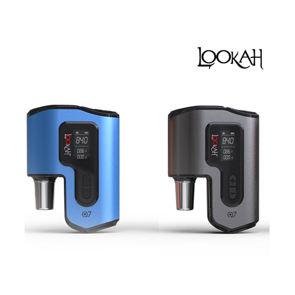 Lookah Q7 Portable eNail Wax Vaporizer for 14mm or 18mm Water Pipe