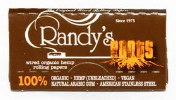Randy's Roots Wired Hemp Rolling Papers King Size - 25 ct.