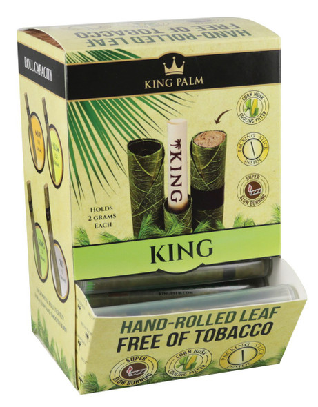 King Palm King Pre-Rolled Cone Display 50 ct.