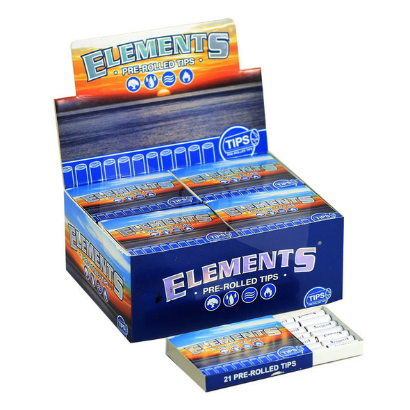 Elements Pre-Rolled Tips - 20 ct.