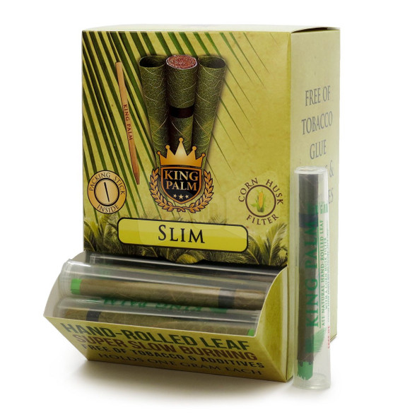 King Palm Slim Pre-Rolled Cone Display 50 ct.