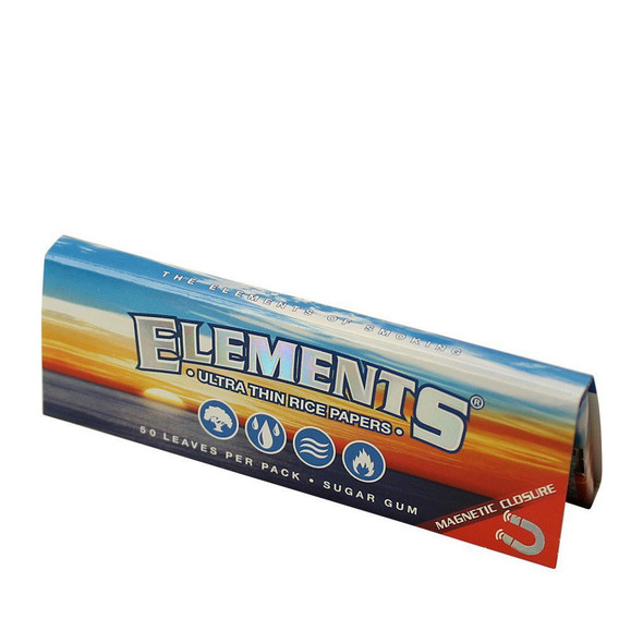 "Elements Ultra Rice Paper 1 1/4"" Size 25 ct."