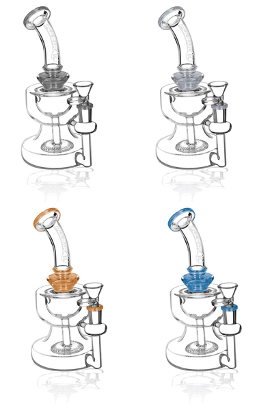 """Pulsar 8"""" Two Cup Disc Per Water Pipe"""