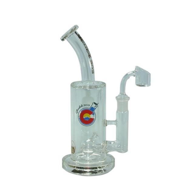GlassLab303 Medium Oil Rig With Various Percolators