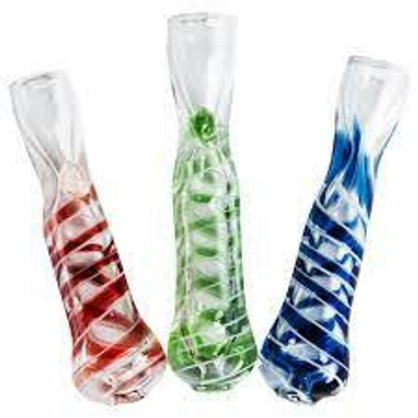 "Assorted 3"" Basic Glass One Hitters"