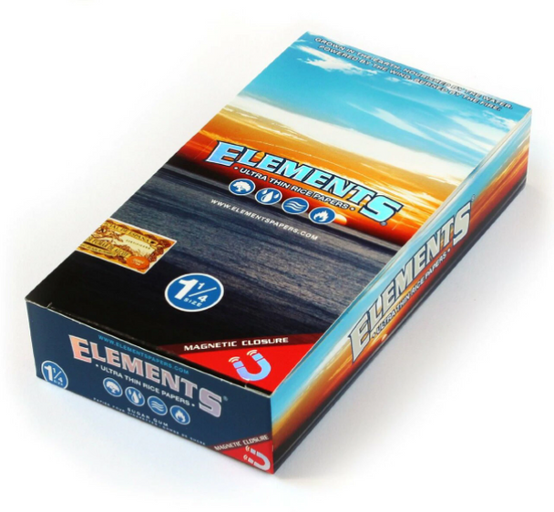"""Elements Rolling Papers 1¼"""" Size - 25 ct."""
