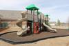 Playground Border Timbers help define required use-zones around equipment